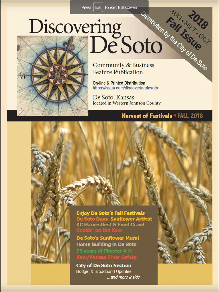 Cover of magazine showing wheat